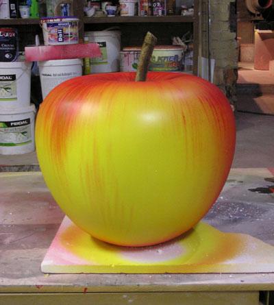 Муляж яблока своими руками 86